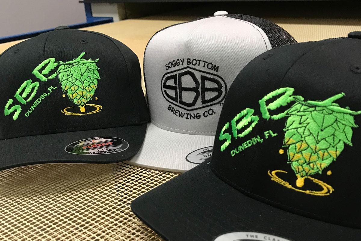 digitizing & embroidery hats