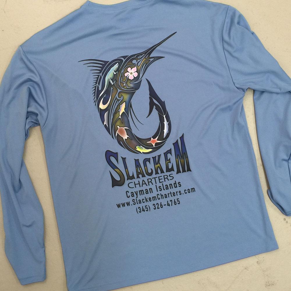 Long sleeve shirt printing
