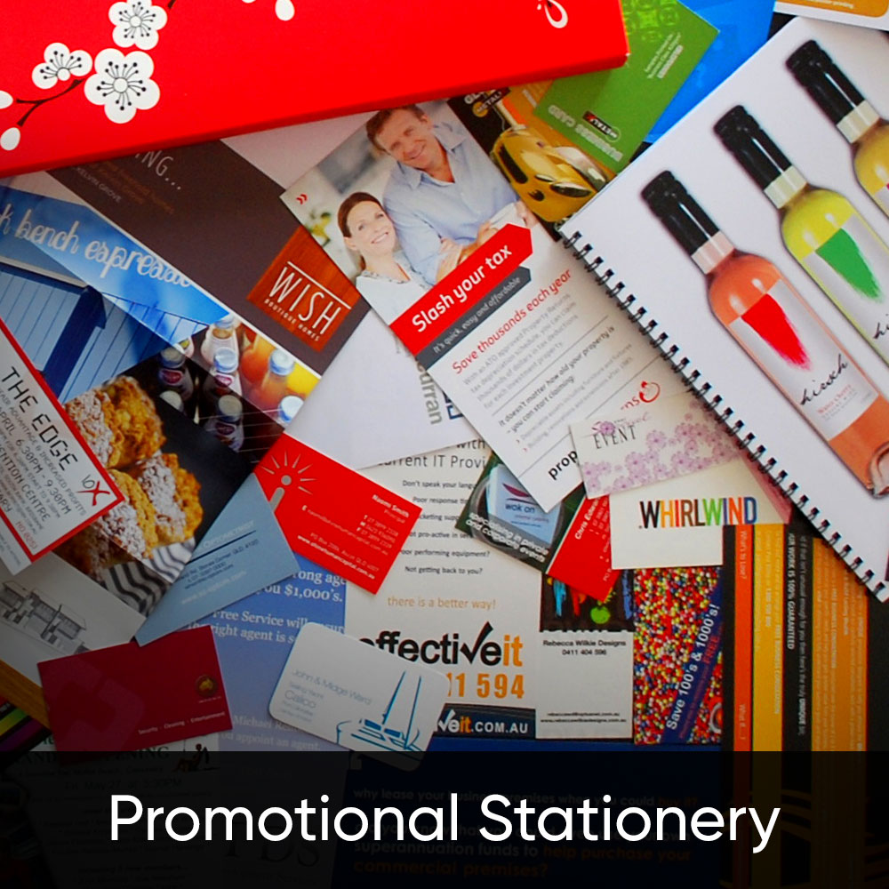 custom print promotional products