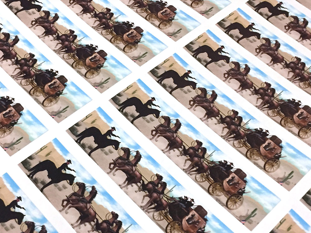 Sticker & decal printing