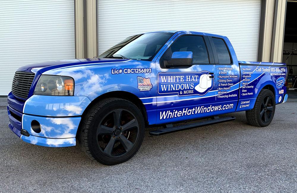 Vehicle Wrap - holiday, FL