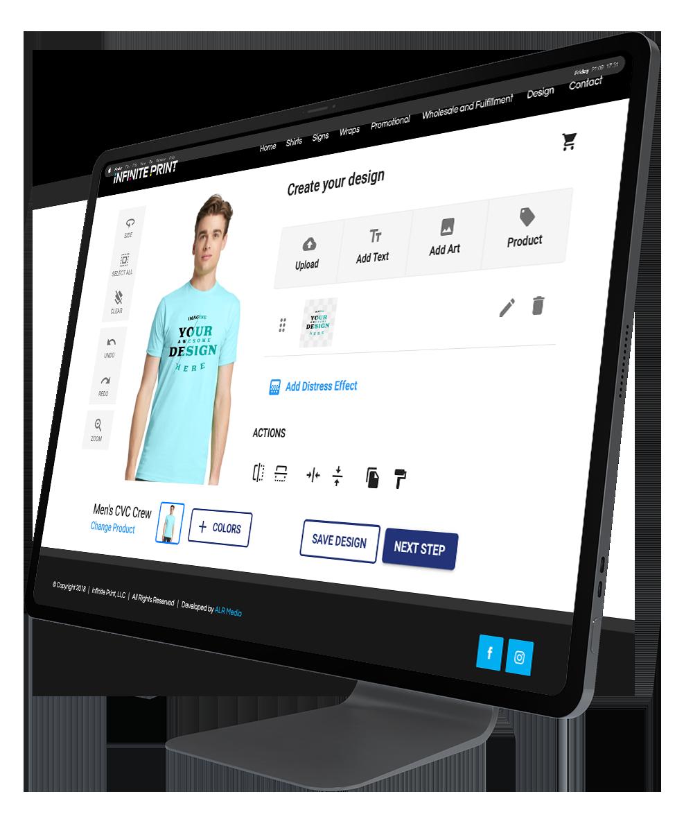 Custom Shirt design and printing